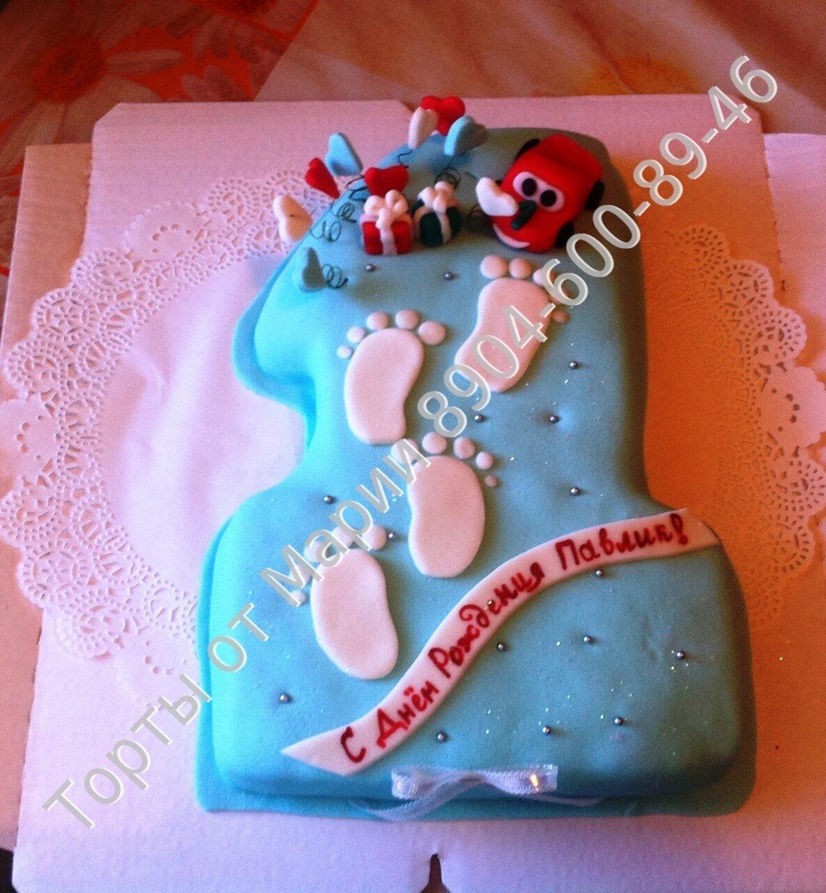 Торт Единичка для маленьких принцесс рецепт с фото 2