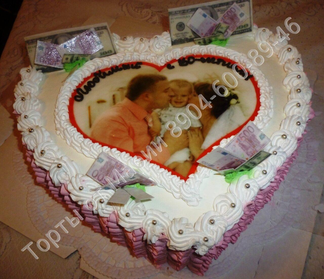 Торт с фотопечатью своими руками 519