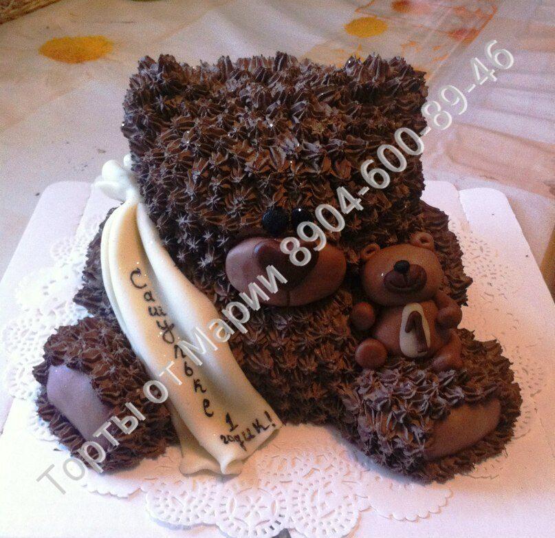 Мишка из шоколада своими руками 6
