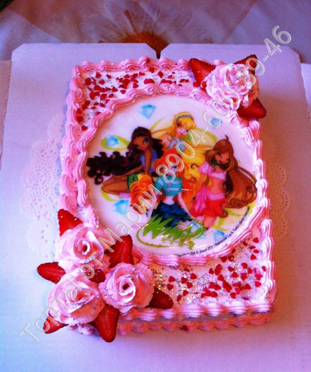 Винкс торты