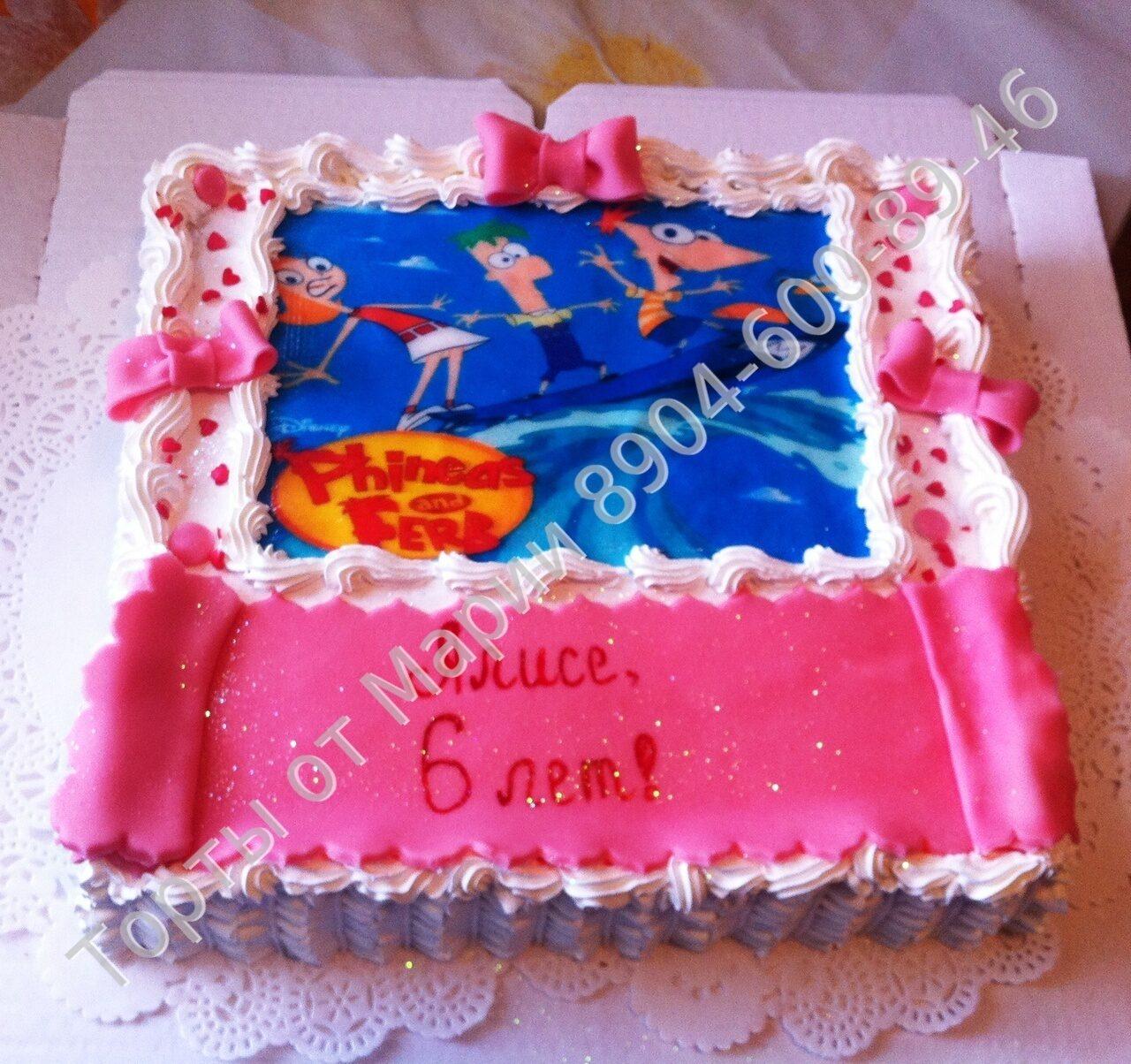 Детские торты на заказ цена 600 750р кг
