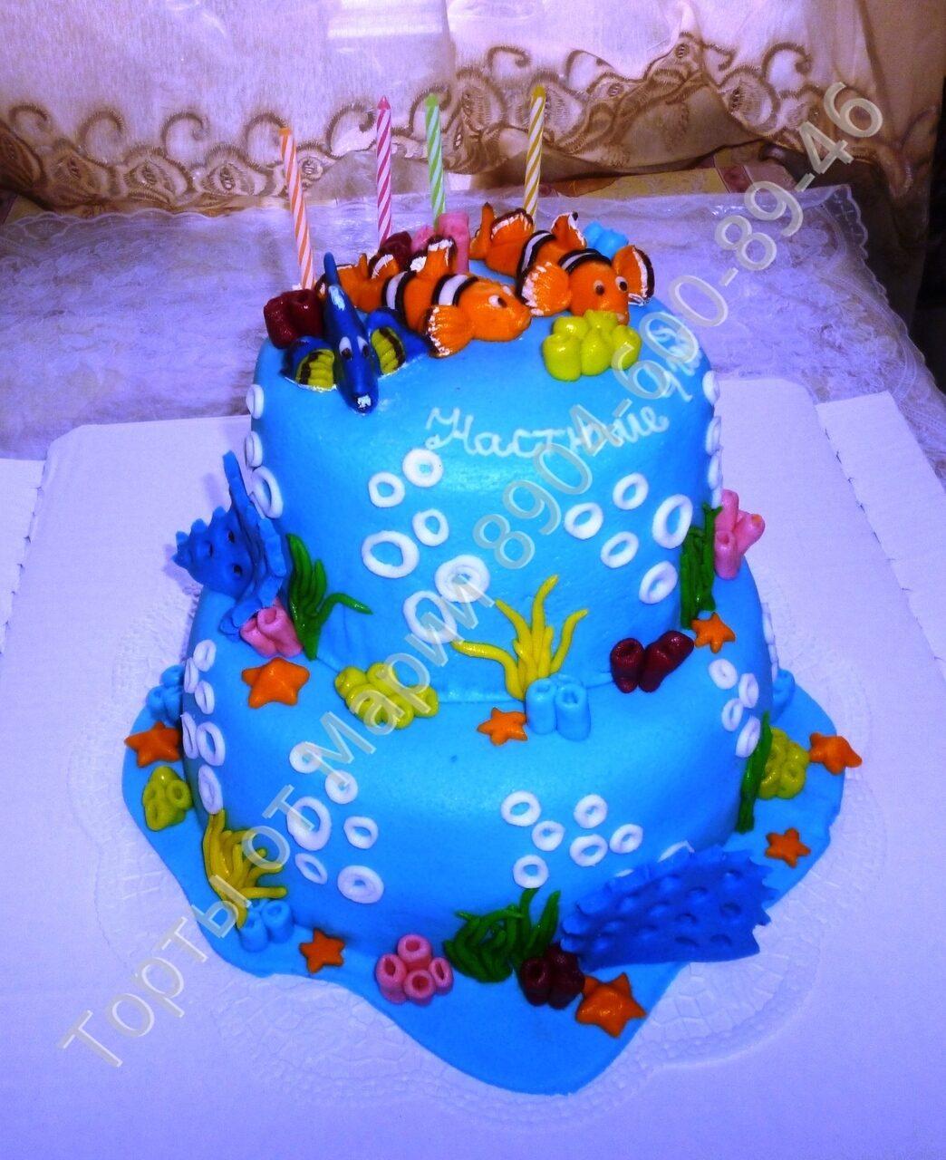 Немо № 44 детские торты на заказ