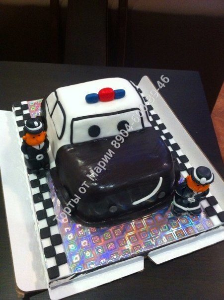 Торт полицейская машина - 11